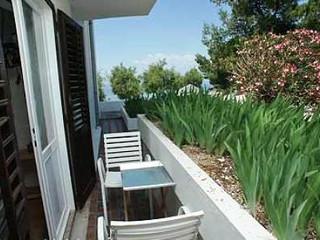 Dvojlůžkový pokoj s výhledem do zahrady