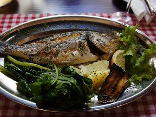 Gastronomie a ceny jídla v Chorvatsku