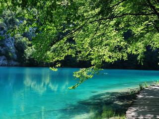 NP Plitvická jezera - první národní park v Chorvatsku
