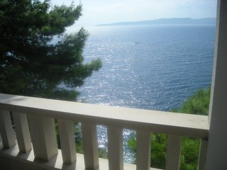 Dovolená v Chorvatsku - ubytování Brela