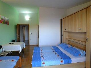 Dovolená v Chorvatsku - ubytování Krvavica