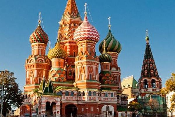 Rusko - Moskva, Petrohrad