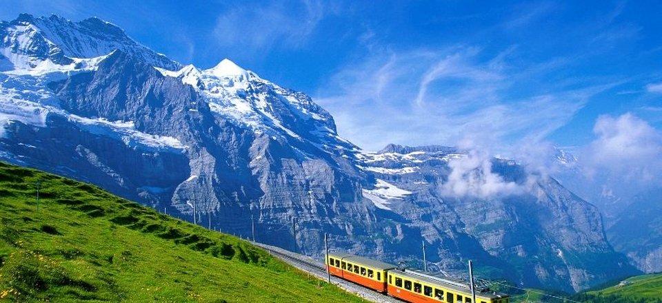 Nejkrásnější Švýcarsko