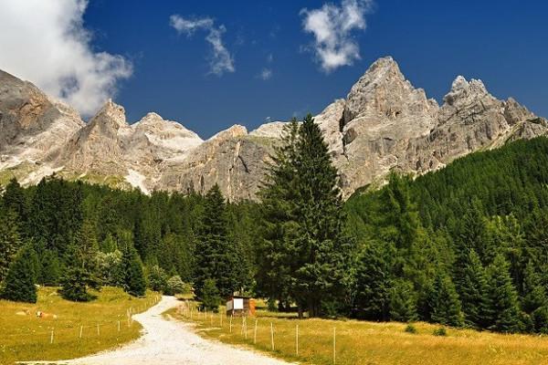 Centrální dolomity s lehkou turistikou pro každého