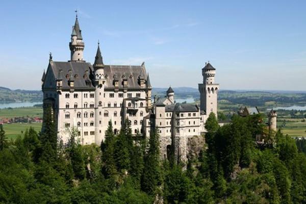 Úžasné zámky a příroda Bavorska