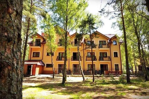 Baltské moře, hotel Sailor, Łeba