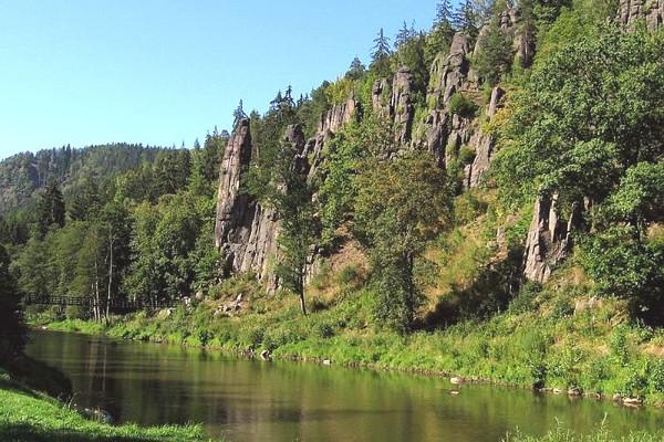Perly Západních Čech, lázně, památky, příroda