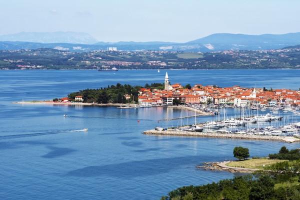 Slovinsko, Jaderské moře