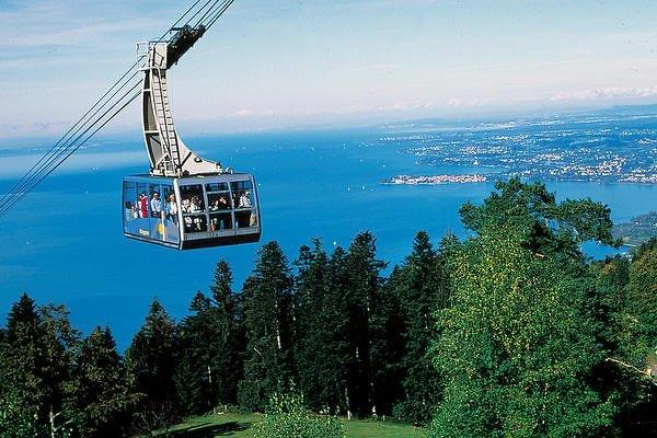 Bodamské jezero, Německo, Rakousko, Švýcarsko