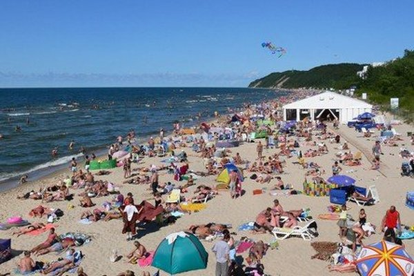 Baltské moře, Międzyzdroje