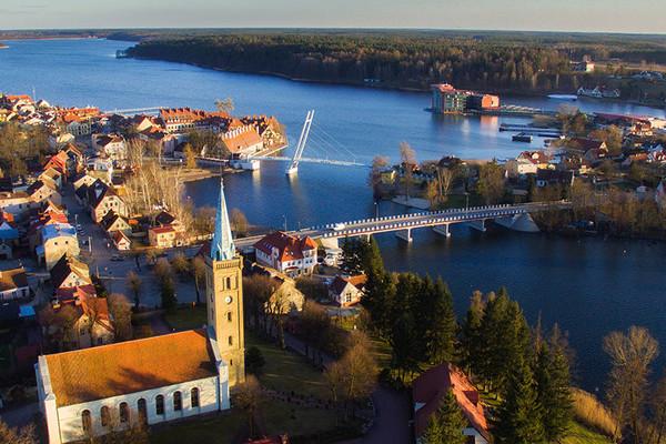 Mazurská jezera a okolí