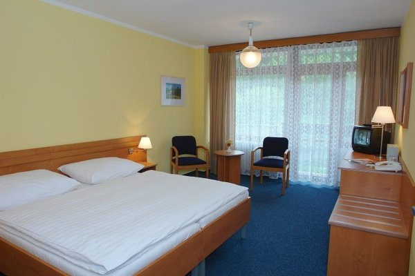 Luhačovice, hotel Harmonie